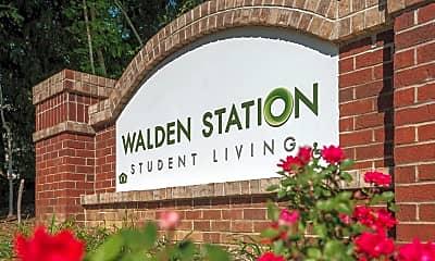 Community Signage, Walden Station, 1
