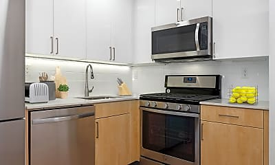 Kitchen, 630 Lenox Ave 3-D, 1