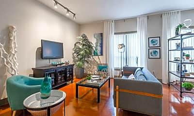 Living Room, 3105 San Jacinto, 1