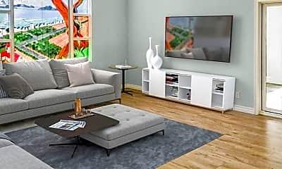 Living Room, 1031 N Crescent Heights Blvd, 1