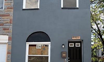 Building, 1901 E Lanvale St, 1