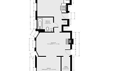 Bedroom, 98 Linden St, 1