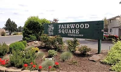 Community Signage, Fairwood Square Apartments, 2