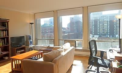 Living Room, 343 E 30th St 8-D, 1