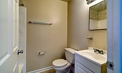 Bathroom, Wyman Court Apartments, 2