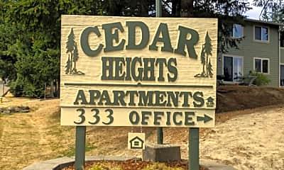 Cedar Heights, 1