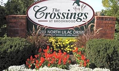 Community Signage, The Crossings at Brookwood 55+ Award Winning Community, 0