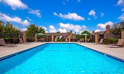 Pool, Deerfield Apartments, 1