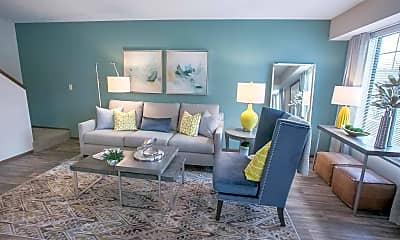 Living Room, Westchester Townhomes Rental Homes, 0