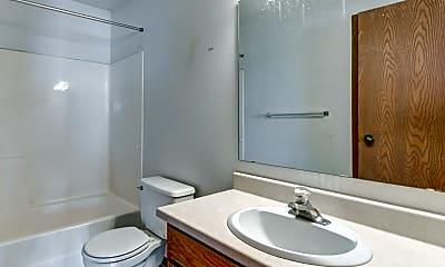 Bathroom, Prairie Parkway Apartments, 2