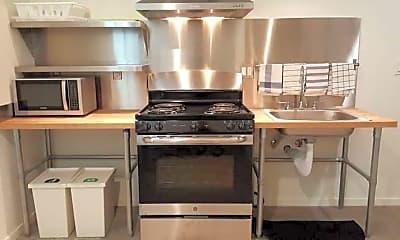 Kitchen, Base Ballard, 1
