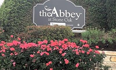 Community Signage, The Abbey at Stone Oak, 0