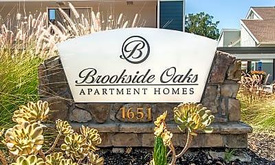 Community Signage, Brookside Oaks, 1