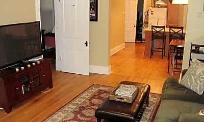 Living Room, 3117-19 N Racine Ave - 3117 2R, 0