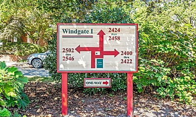 Community Signage, 2546 S Walter Reed Dr 5, 2