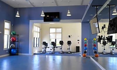 Fitness Weight Room, Cabana Club, 1
