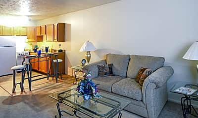 Living Room, Timber Creek Apartments, 1
