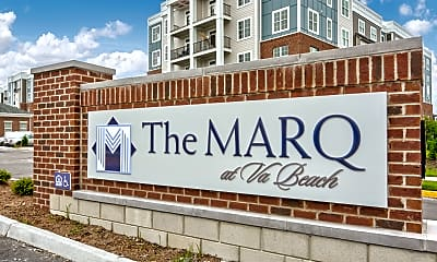 Community Signage, The Marq., 2