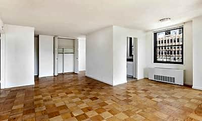 Living Room, 240 E 40th St, 1