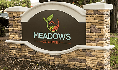 Community Signage, Meadows on Merrill, 0