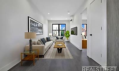 Living Room, 1166 St Johns Pl 1A, 1