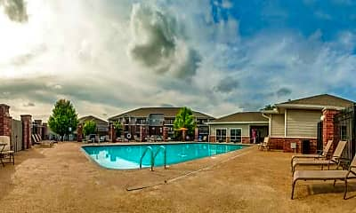 Pool, Foothills Apartments, 0