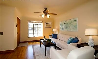 Living Room, 2440 N Gaylord St, 1