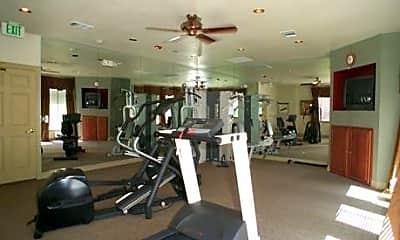 Fitness Weight Room, Tanemara Apartments, 2
