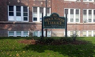 Brick School Terrace Senior Housing, 1