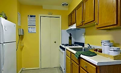 Kitchen, Dolfield Townhomes, 1