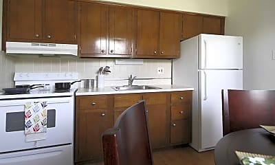 Kitchen, The Regency Apartments, 2