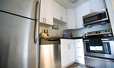 Kitchen, Rustic Village Apartments & Townhomes, 1