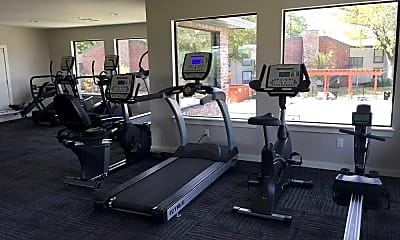Fitness Weight Room, Riverbend on the Park, 2