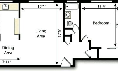 Living Room, 66 S Clarkson St, 2