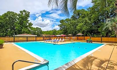 Pool, Donaree Village Apartments, 0