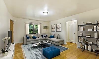 Living Room, Skyline Apartments, 0
