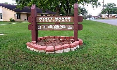 Hyatt Manor Apartments, 1