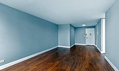 Living Room, 301 E 79th St 26-R, 1