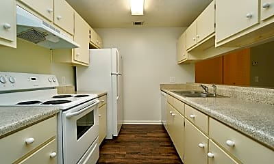 Kitchen, Quail Ridge Apartments, 2
