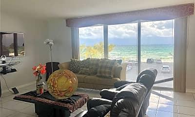 Living Room, 2030 S Ocean Dr 221, 1