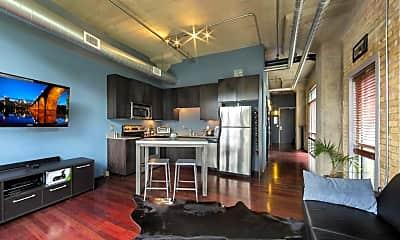 Living Room, 748 N 3rd St 106, 1