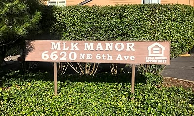 Martin Luther King Manor, 1
