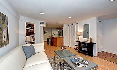 Living Room, 1929 Calvert St NW, 1