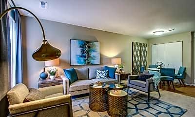 Living Room, The Park at Sagebrush Circle, 1