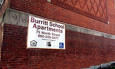 Burritt School Apartments, 1