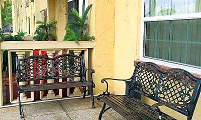 Patio / Deck, Campus Towers Senior Apartments, 1