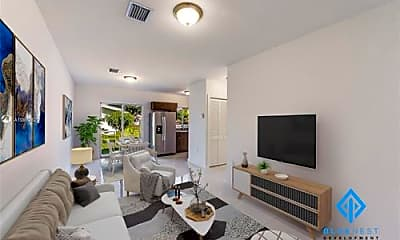 Living Room, 7940 NW 12th Ct, 1