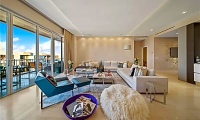 Living Room, 10155 Collins Ave PH8, 0