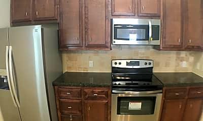 Kitchen, Huntsville Village, 1