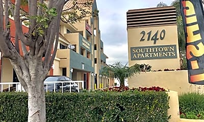 Building, Southtown Apartments, 1